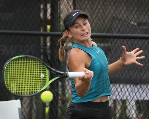 Usue Maitane Arconada won both the singles and doubles event, becoming just the second player to accomplish this feat at Sea Colony.