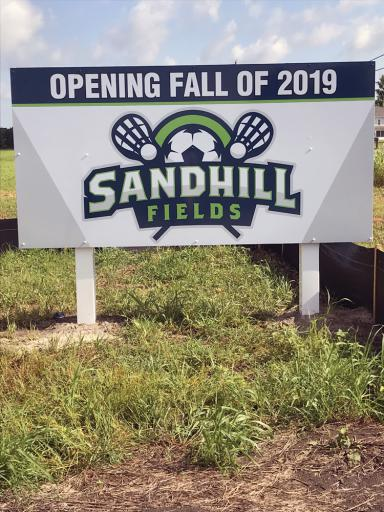 Sandhill Fields held a groundbreaking ceremony on Wednesday, August 22.