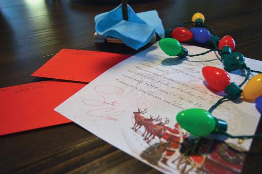 Kristina and Sean Malone started Santa's Letters this last holiday season, and will be holding a spaghetti dinner to raise funds for continued local projects.
