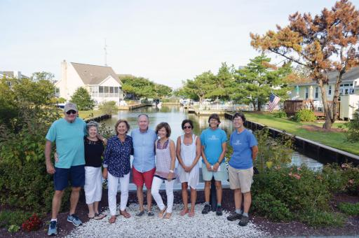 It was a warm, sunny evening for organizers and winners of the annual South Bethany Adopt-A-Canal/Road-End Beauty Contest.