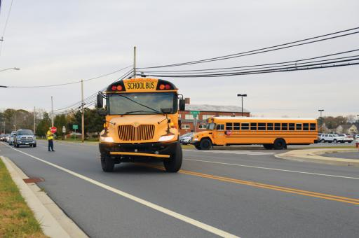 Officials have been trying to make it safer for children to get on and off buses, both locally and nationally.