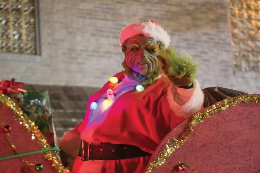 The annual Selbyville Christmas Parade made everyone there feel the holiday spirit on Friday, Dec. 6.
