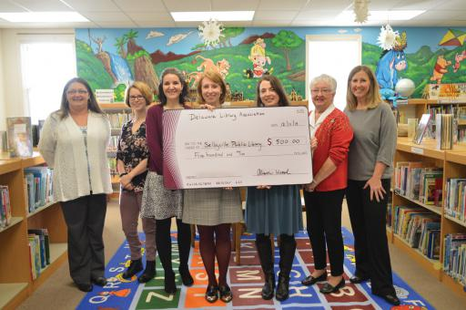Selbyville Public Library will add this month's Delaware Library Association grant to other local contributions, helping to feed the community all summer long.