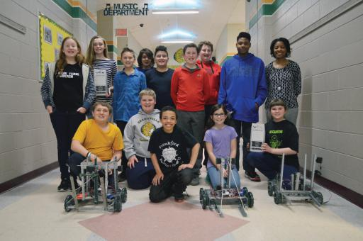 IRHS will send its first VEX Robotics team to worlds this month.