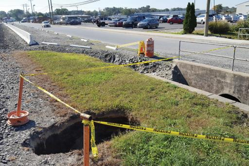Selbyville officials are accepting bids for construction of a new culvert.