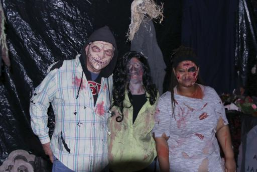Freaks and ghouls, killers and crazies fill the Selbyville Library during last years' Selbyville Haunted Library.
