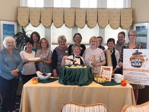 The community had the opportunity to buy specialty soups and baked goods from local restaurants during the third annual Soup for the Soul event.