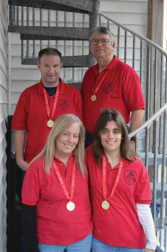 Brian and Bruce Arrendall, and Chris and Jillian Calanna all won gold medals in the Special Olympics bowling tournament on Saturday, Jan. 26, in Dover  More than 300 people participated in the Delaware Special Olympics bowling tournament on Saturday, Jan. 26, at the Brunswick Doverama.