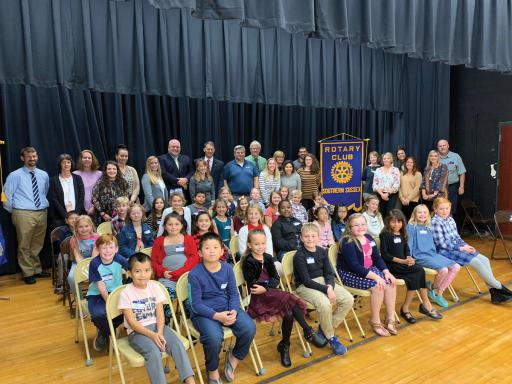 Southern Sussex Rotary held it's annual third grade spelling bee at Lord Baltimore Elementary School.