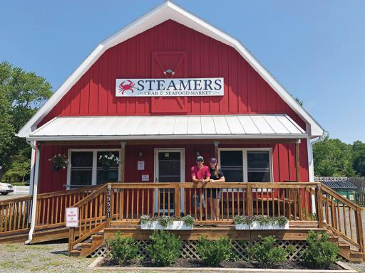 Joe and Blair Parsons are celebrating 10 years in business at Steamers Crab & Seafood Market in Millville.