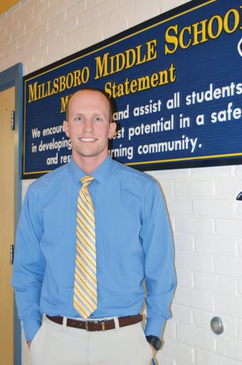 Richard Syphard has teaching in his blood — and now he is the Millsboro Middle School Teacher of the Year.