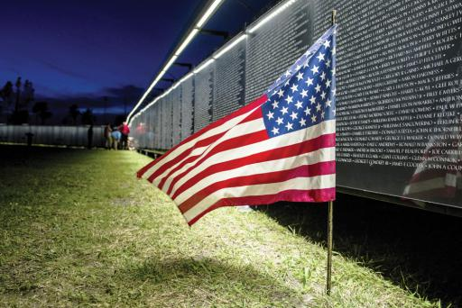 "From October 3rd to the 6th, ""The Wall that Heals,"" a three-quarter replica of the Vietnam Veterans Memorial Wall in Washington, will be on display in Ocean View.  Large-scale replica of Vietnam Veterans Memorial Wall coming to VFW Post 7234 in October"
