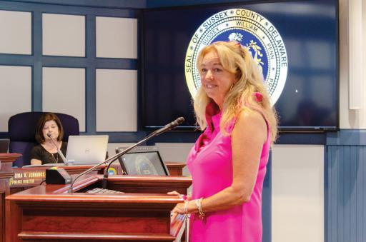 Holly Wingate was approved to be the newest member of the Sussex County Planning & Zoning Commission.