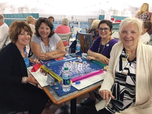 Women participate in last year's Womenade Games Day.